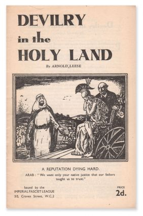 Devilry in the Holy Land. Arnold LEESE