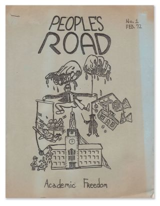 People's Road, No. 1, Feb. 1972. Butterfly Collective
