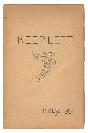Keep Left, Vol. 1, No. 1, May 1951. Editorial Staff