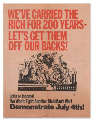 We've Carried the Rich for 200 Years - Let's Get Them Off Our Backs!