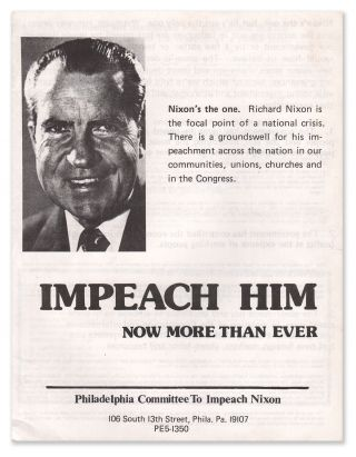 Impeach Him Now More Than Ever