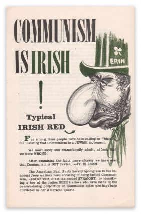 Communism Is Irish! American Nazi Party