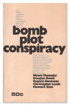 Bomb Plot Conspiracy. National Caucus of Labor Committees