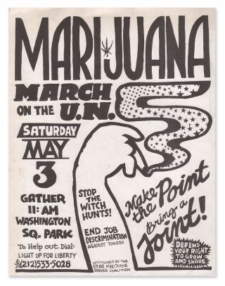Marijuana - March on the U.N