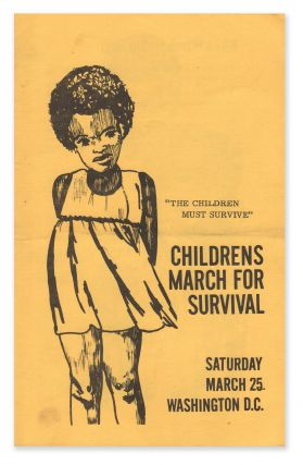 Childrens [sic] March for Survival