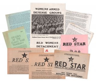 A significant collection of Red Women's Detachment material