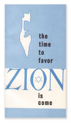 The Time to Favor Zion Is Come