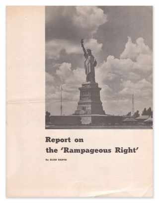 Report on the 'Rampageous Right'. Alan BARTH