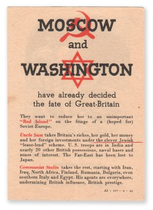 Moscow and Washington have already decided the fate of Great-Britain