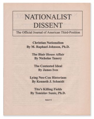 National Dissent: The Official Journal of American Third-Position, Issue #2