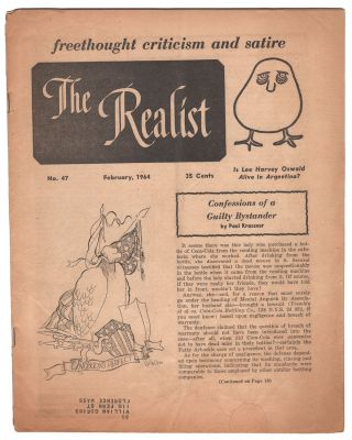 The Realist, No. 47, February, 1964. Paul KRASSNER
