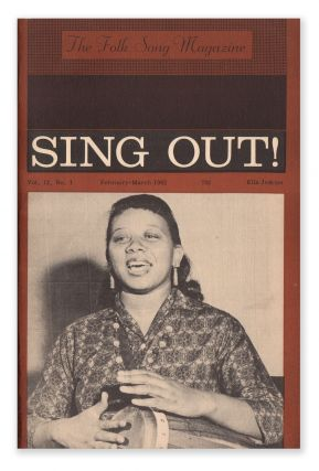 Sing Out!, Vol. 12, No. 1, February-March, 1962. Irwin SILBER
