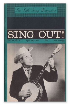 Sing Out!, Vol. 12, No. 2, April-May, 1962. Irwin SILBER
