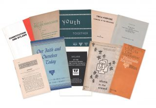 A small collection of YWCA publications