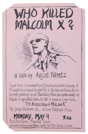 Who Killed Malcolm X?: A Talk By August Nimtz