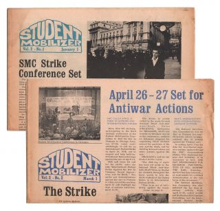 Student Mobilizer, Vol. 2, Nos. 1-2 (two issues). Editorial Board