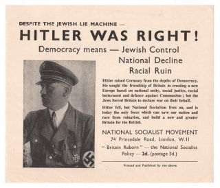 Despite the Jewish Lie Machine - Hitler Was Right! Democracy Means - Jewish Control, National...