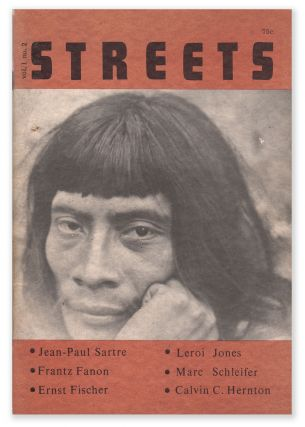 Streets, Vol. 1, No. 2, May-June, 1965. Paul JASPER, Stefan Uhse, Maro Riofrancos, Leroi JONES,...
