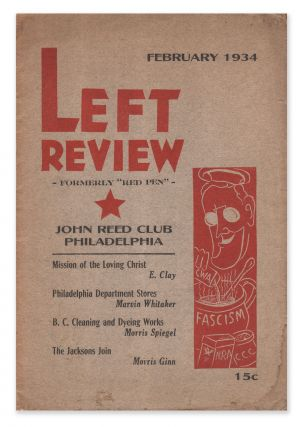 Left Review (formerly Red Pen), Vol. 1, No. 2, February, 1934. Vincent Norman HALL, -in-chief