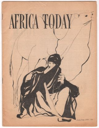 Africa Today, Vol. XII, No. 6, June-July, 1965. Collin GONZE