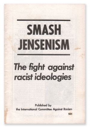 Smash Jensenism: The Fight Against Racist Ideologies