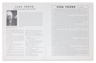 Ezra Pound: World-Famed American Poet and Patriot