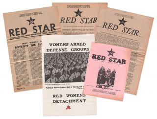 Red Star, Nos. 3-6 [with] Womens Armed Defense Groups poster