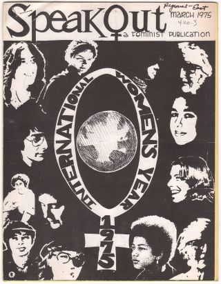 SpeakOut: A Feminist Journal, Vol. IV, No. III, March 1975