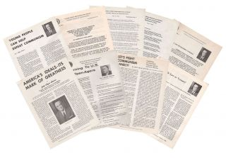 A small collection of anti-Communist material by J. Edgar Hoover. J. Edgar HOOVER