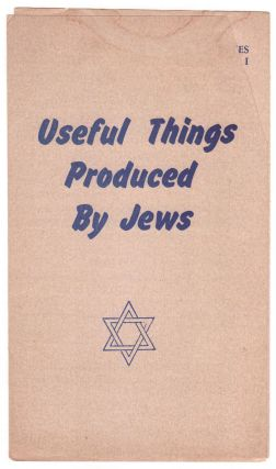 Useful Things Produced By Jews